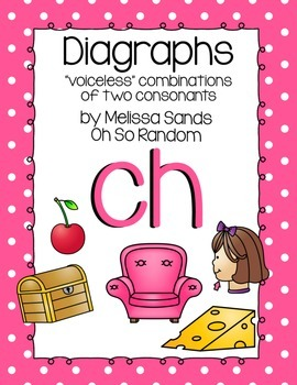 -ch Digraph Anchor Chart & Practice {Click File, Print}
