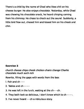 /ch/ phoneme lesson plan