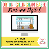 ch or tch? Gingerbread Story Board Game and Sort (Orton-Gillingham)