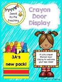 #ausbts18 Crayon Door Display