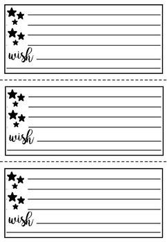 Printable feedback templates