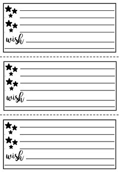 Printable feedback templates