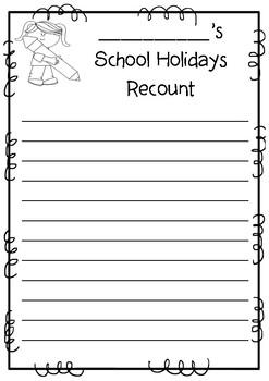 School Holidays Recount