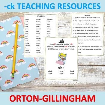 -ck Orton Gillingham pack