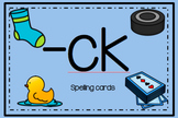 -ck Spelling Cards