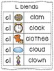 -cl Blend Anchor Chart & Practice {Click File, Print}