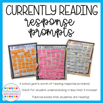 #currentlyreading Quick Reader's Response Prompts