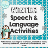 Winter Speech and Language Activities