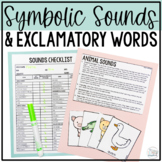 Symbolic Sounds and Exclamatory Words for Early Intervention