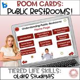 #distancelearning Autism Social Rules Public Restroom Life Skills