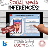 #distancelearning BOOM Winter Social Media Inferences Midd