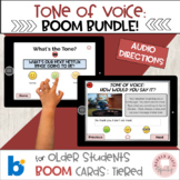 #distancelearning BOOM cards Bundle Tone of Voice