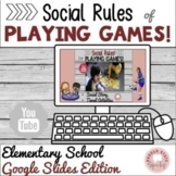 #distancelearning Social Rules Sportsmanship of Playing Ga