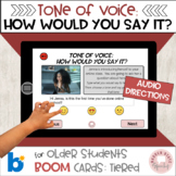 #distancelearning Boom Tone of Voice:  How Would You Say i
