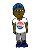Diverse clipart of pre-teens full color
