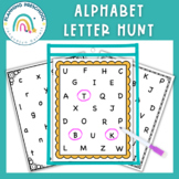 Letter Recognition Worksheets for Preschool use with Dot Markers