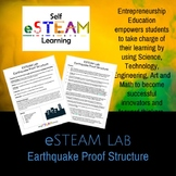 (eSTEAM / STEAM / STEM) Lab: Earthquake Proof Structure