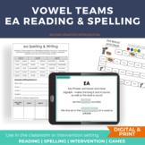 Vowel Team Activities ea