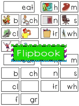 -eat Word Family Flipbook, Word Wall Cards and Data Tracking Sheets!
