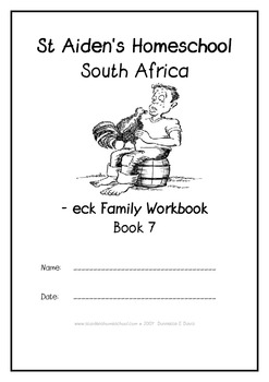 -eck Word Family Workbook