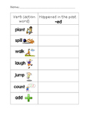 -ed Ending Worksheet