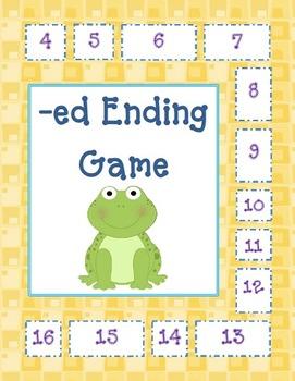 -ed Endings & Sounds