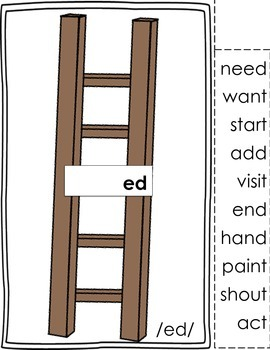 -ed Inflectional Ending Ladders