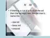 -ed Rule Practice Powerpoint