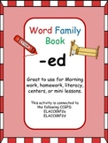 -ed Word Family Book