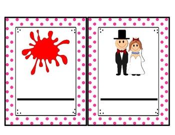 -ed Word Family Cards