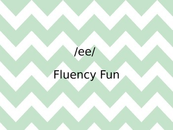 /ee/ Fluency Fun Powerpoint Game