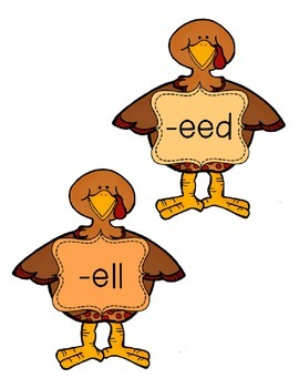 -eed, -ell, -est, -ew Word Family Sort