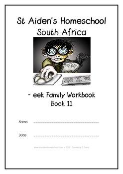 -eek Word Family Workbook