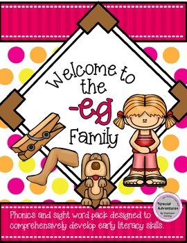 Eg Word Families Teaching Resources Teachers Pay Teachers