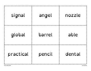 /el/ Word Sort {Differentiated} + Seat work