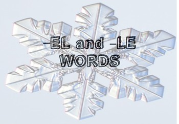 -el and -le words