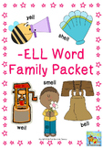 -ell Word Family Packet
