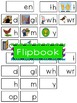 -en Word Family Flipbook, Word Wall Cards and Data Trackin