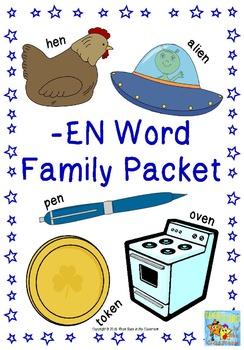 -en Word Family Packet