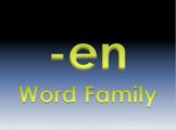 -en Word Family Powerpoint