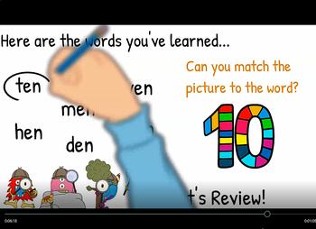 -en Word Family Video & Workbook (Monster Detectives)