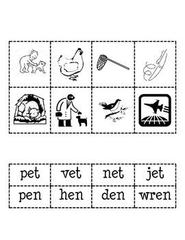 -en and -et Word Families