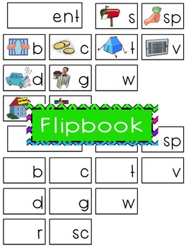 -ent Word Family Flipbook, Word Wall Cards and Data Tracking Sheets!
