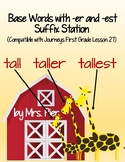 –er and –est Suffix Station (Compatible with Journeys Firs