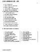 -er regular verbs worksheets