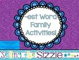 -est Word Family Activities!