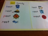 -est Word Family Poster