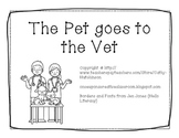 -et Word Family Book - The Pet goes to the Vet