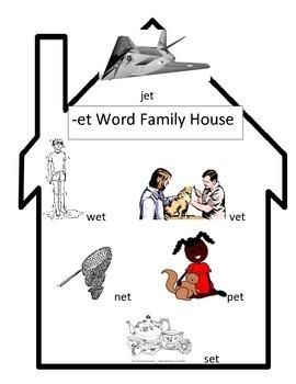 -et Word Family House
