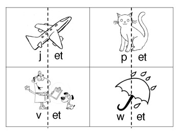 -et Word Family Mini-Pack {Differentiated Spelling Activities}